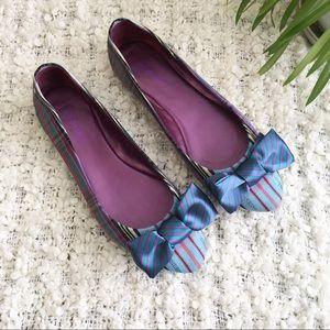 Coach Shoes - Coach Poppy Cambria Flats Plaid Tartan Size 11B